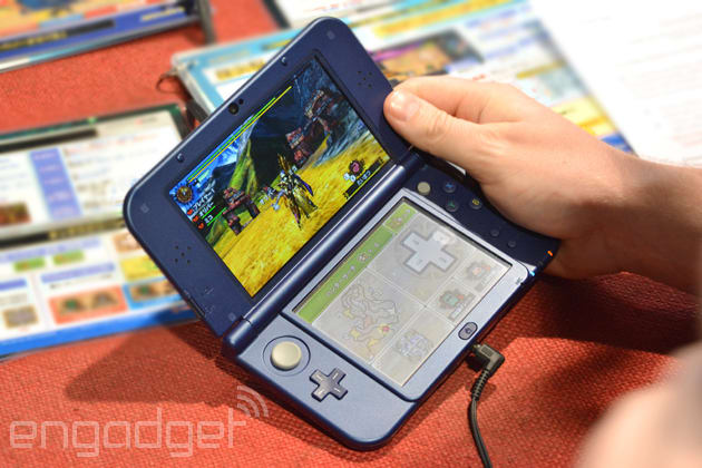 We just played with Nintendo's New 3DS: Finally, an extra