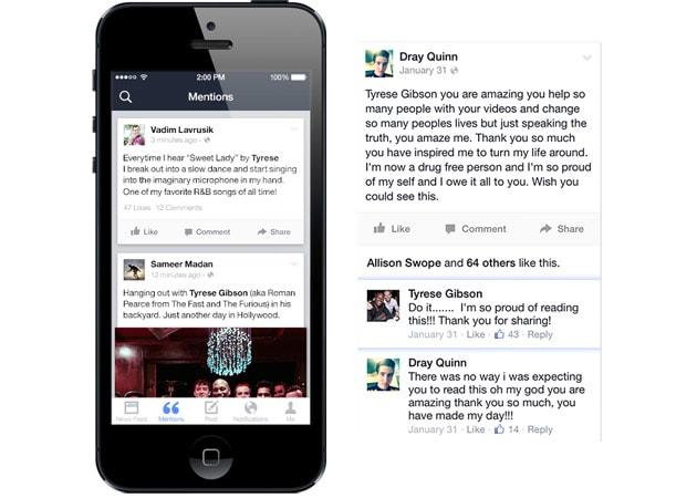 Facebook lanza una nueva aplicación especialmente diseñada para celebrities