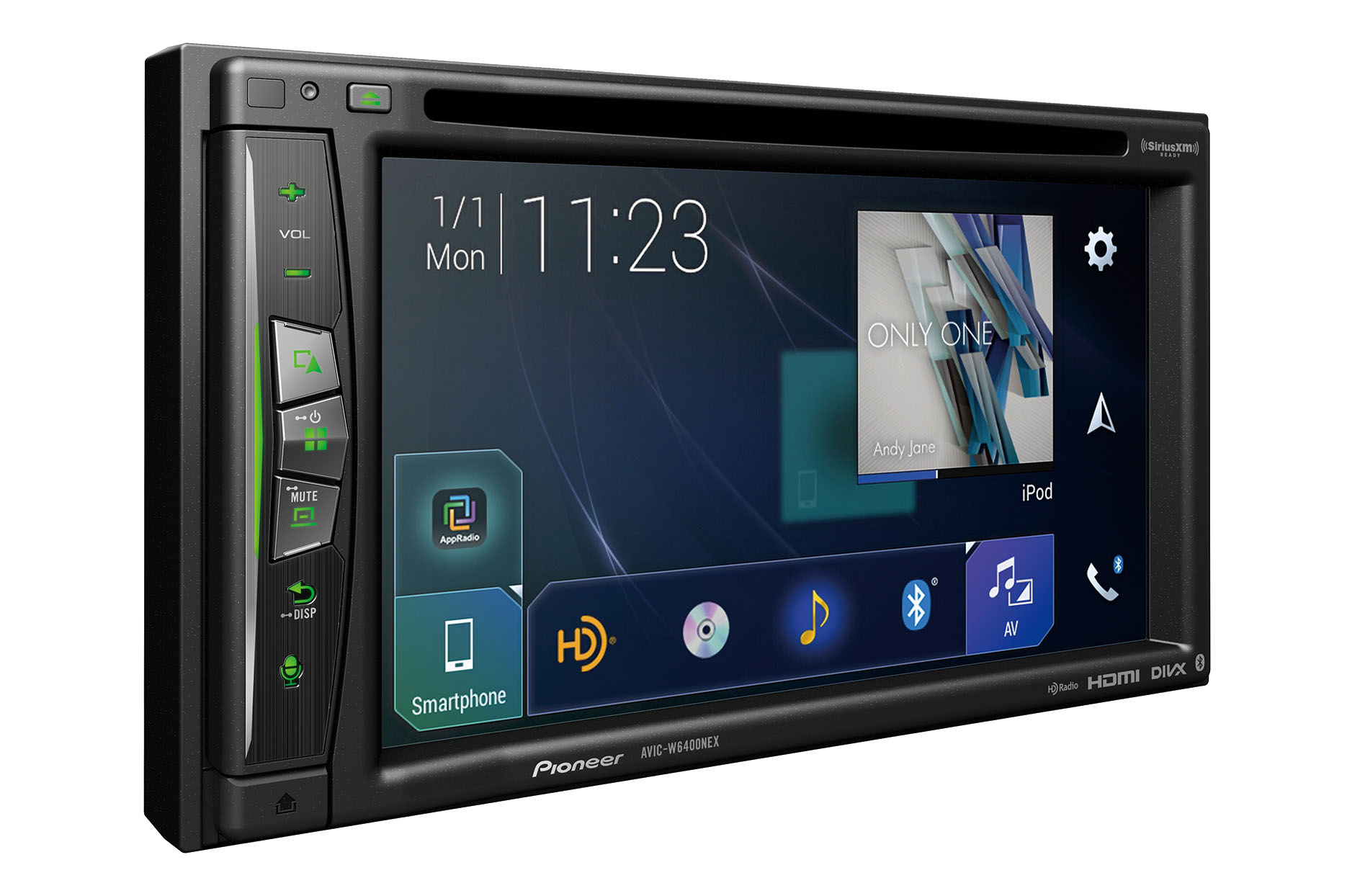 Pioneer's in-dash unit supports both Android Auto Wireless