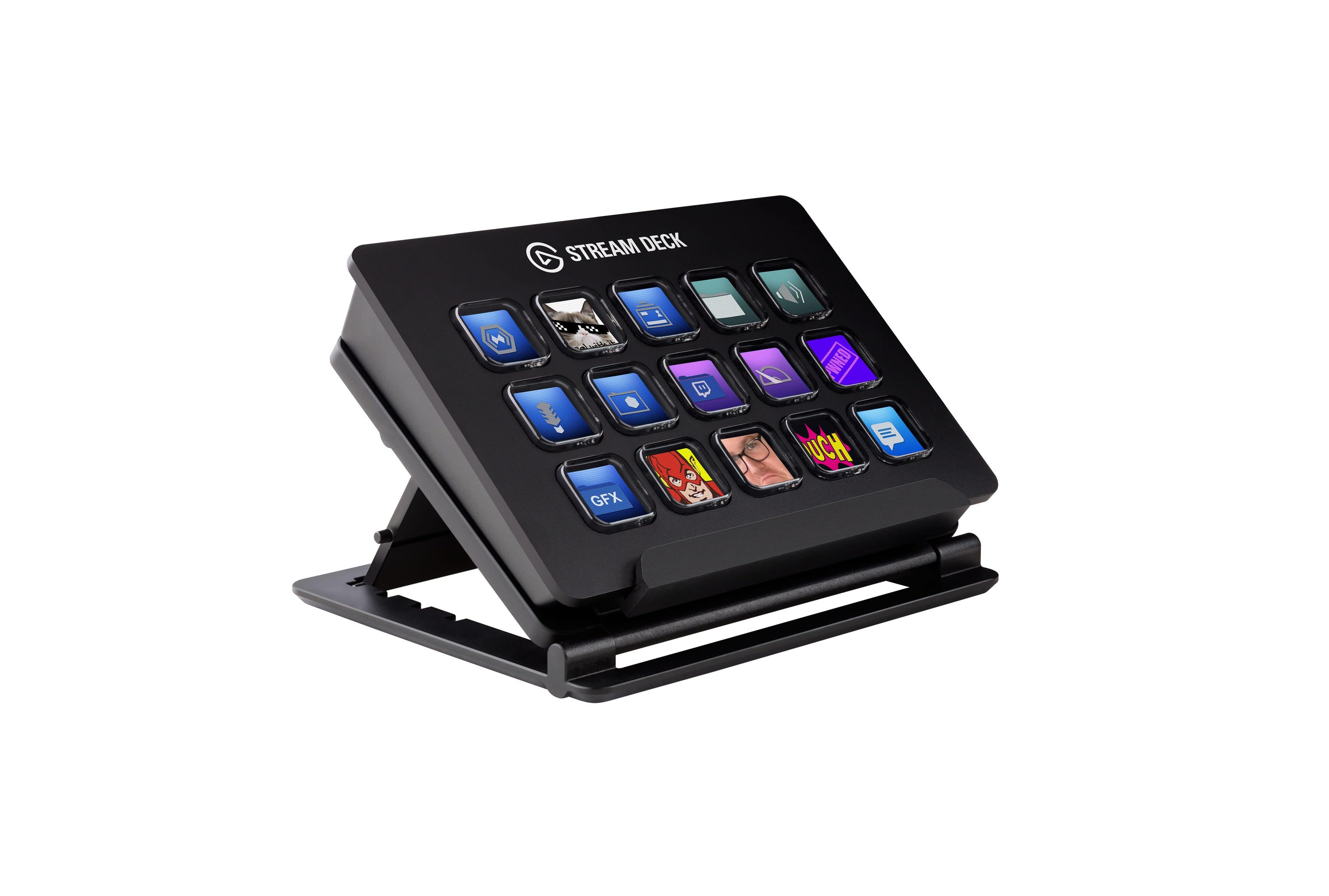 Elgato's control pad is a livestreaming sidekick