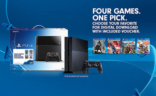 Walmart enhances new PS4 bundle with $50 gift card