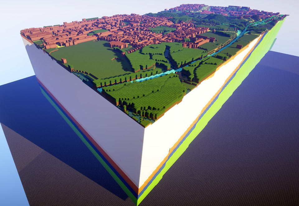These 'Minecraft' worlds will teach you about UK geology