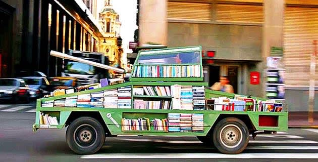 Inhabitat's Week in Green: self-driving cars, library tanks and bionic arms