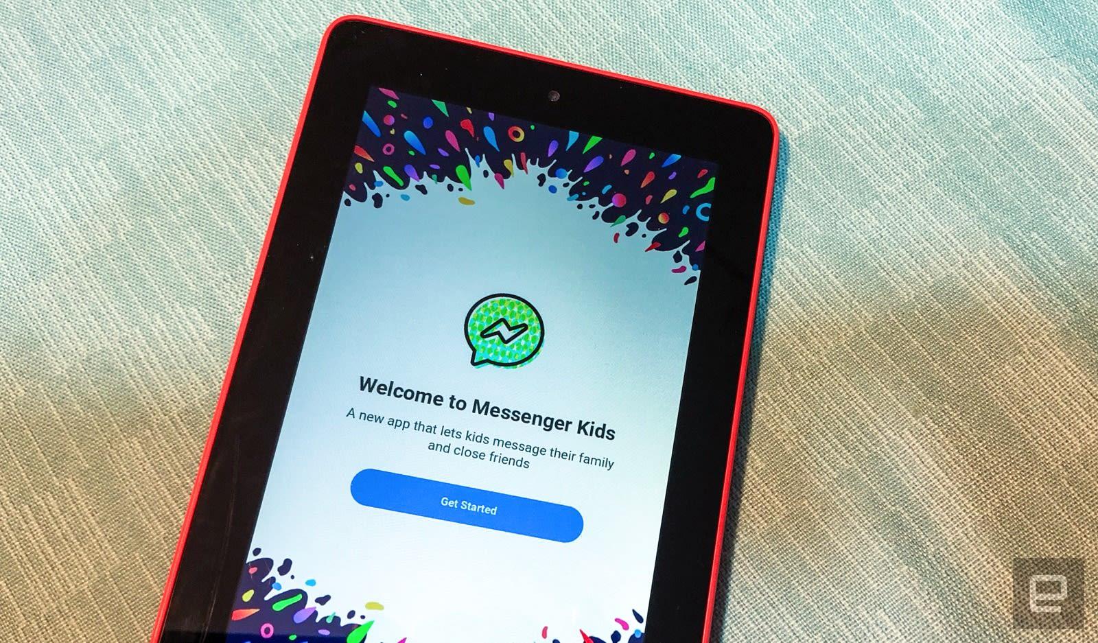 Facebook's Messenger Kids app arrives on Amazon Fire tablets