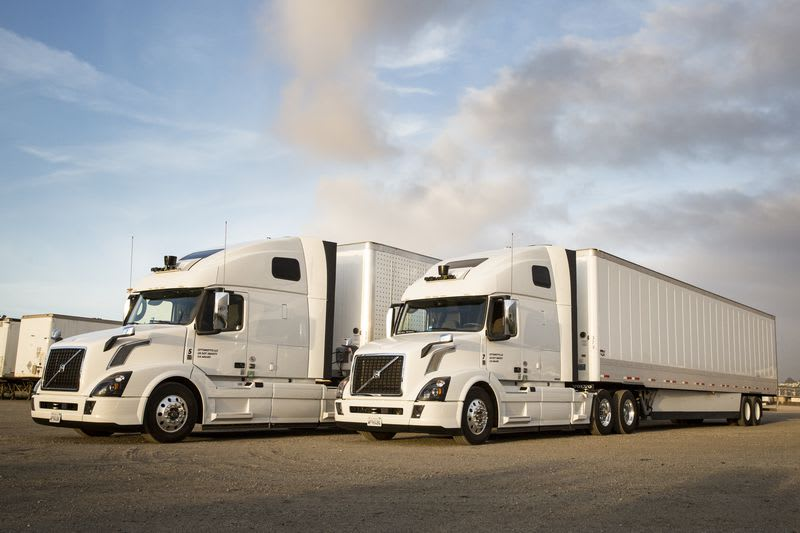 Uber's self-driving trucks are making deliveries in Arizona