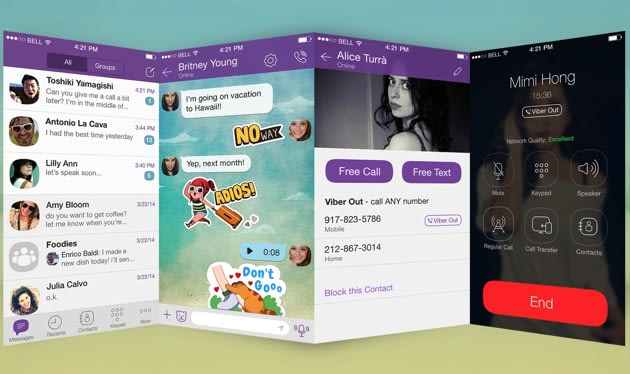 Viber's first major redesign makes it look right at home on