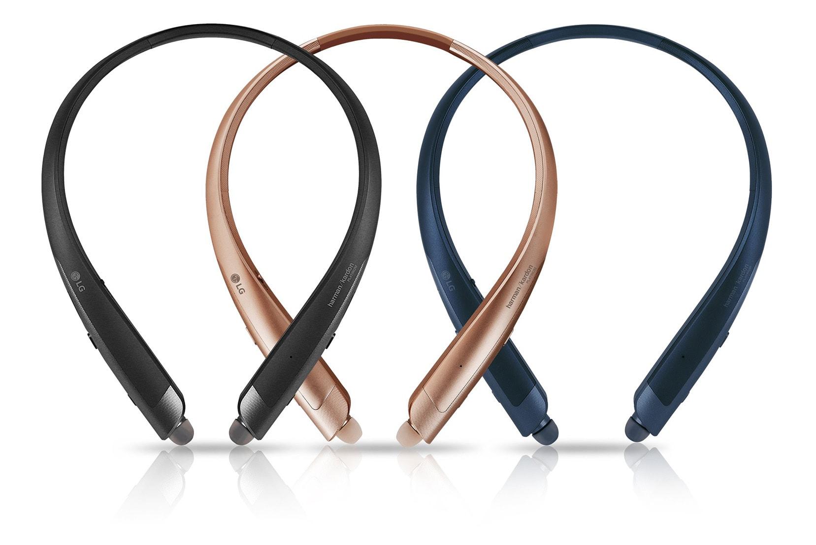 6c5ef9c0e79 LG's wireless Tone headphones have a Google Assistant button