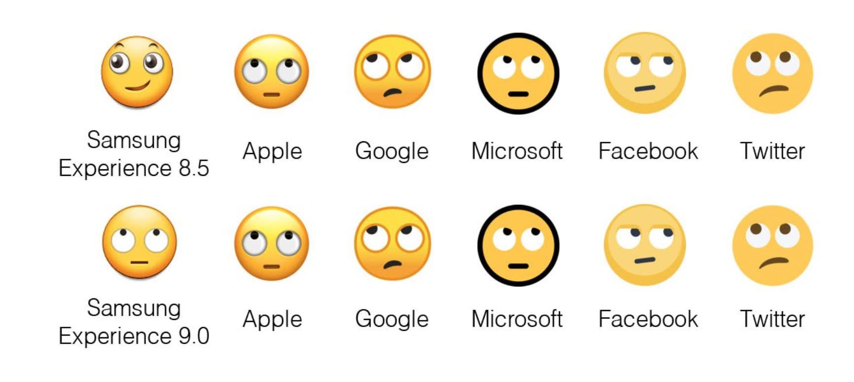89fa24c494f0e8 Samsung s redesigned emoji are actually recognizable