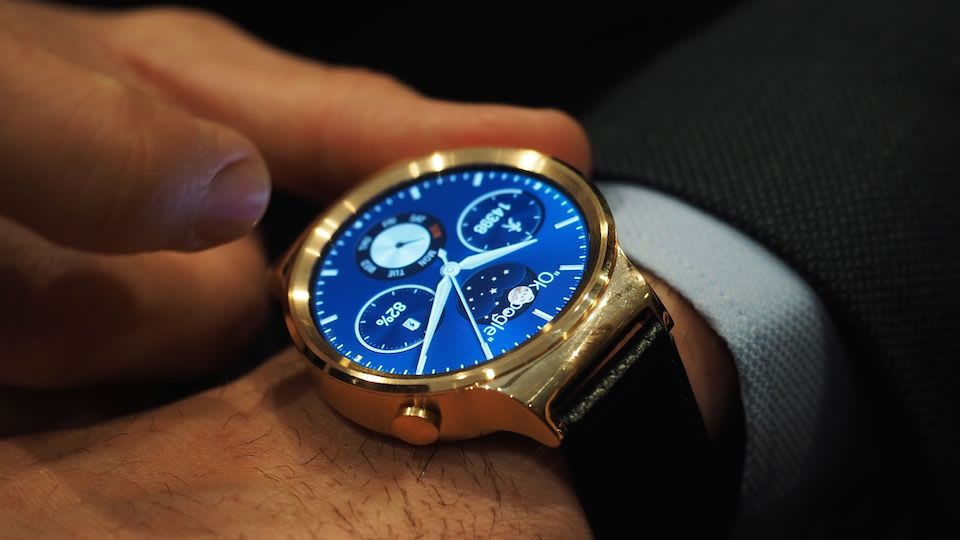Huawei unveils its first Android Wear smartwatch (update: our hands-on!)