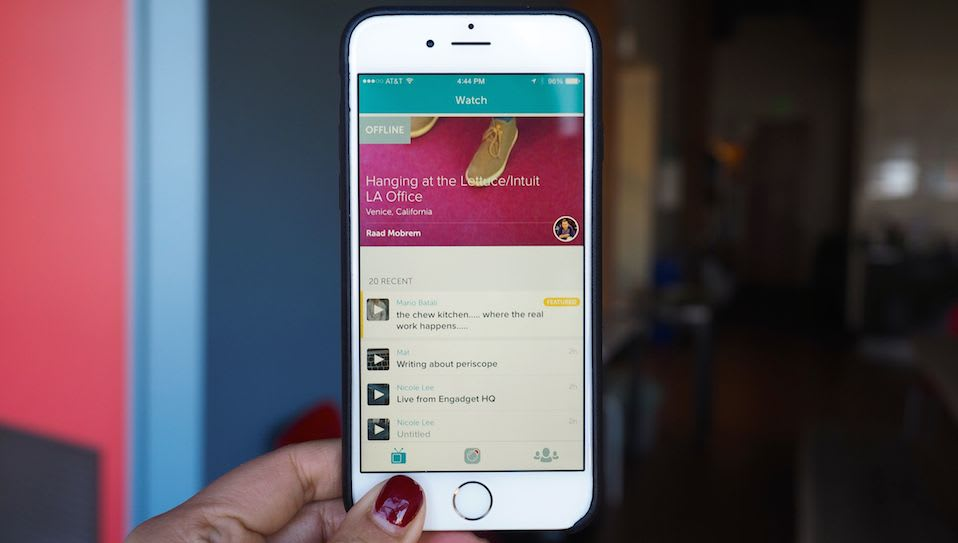 Twitter's Periscope is the best livestreaming video app yet