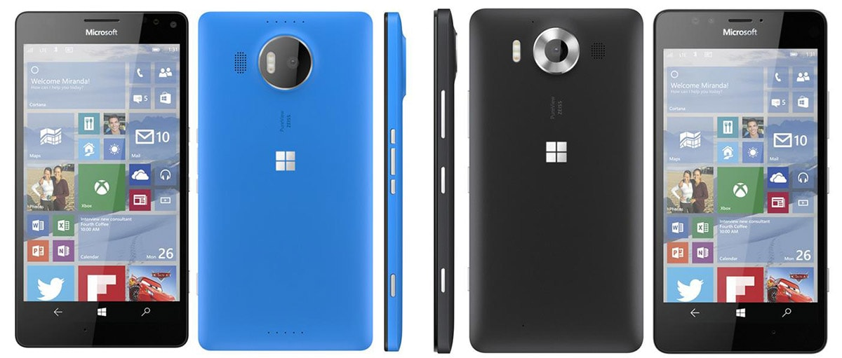 Microsoft renders for flagship Lumia phones leaked online