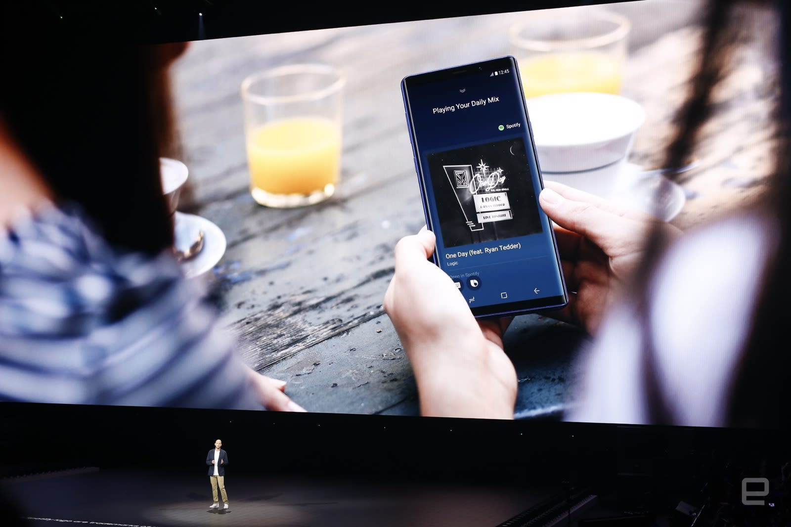 Samsung's smart home devices can pick up Spotify streams