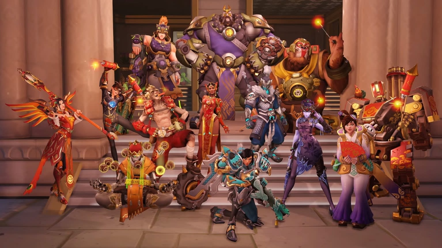 Overwatch's' new Capture The Flag map and competitive mode