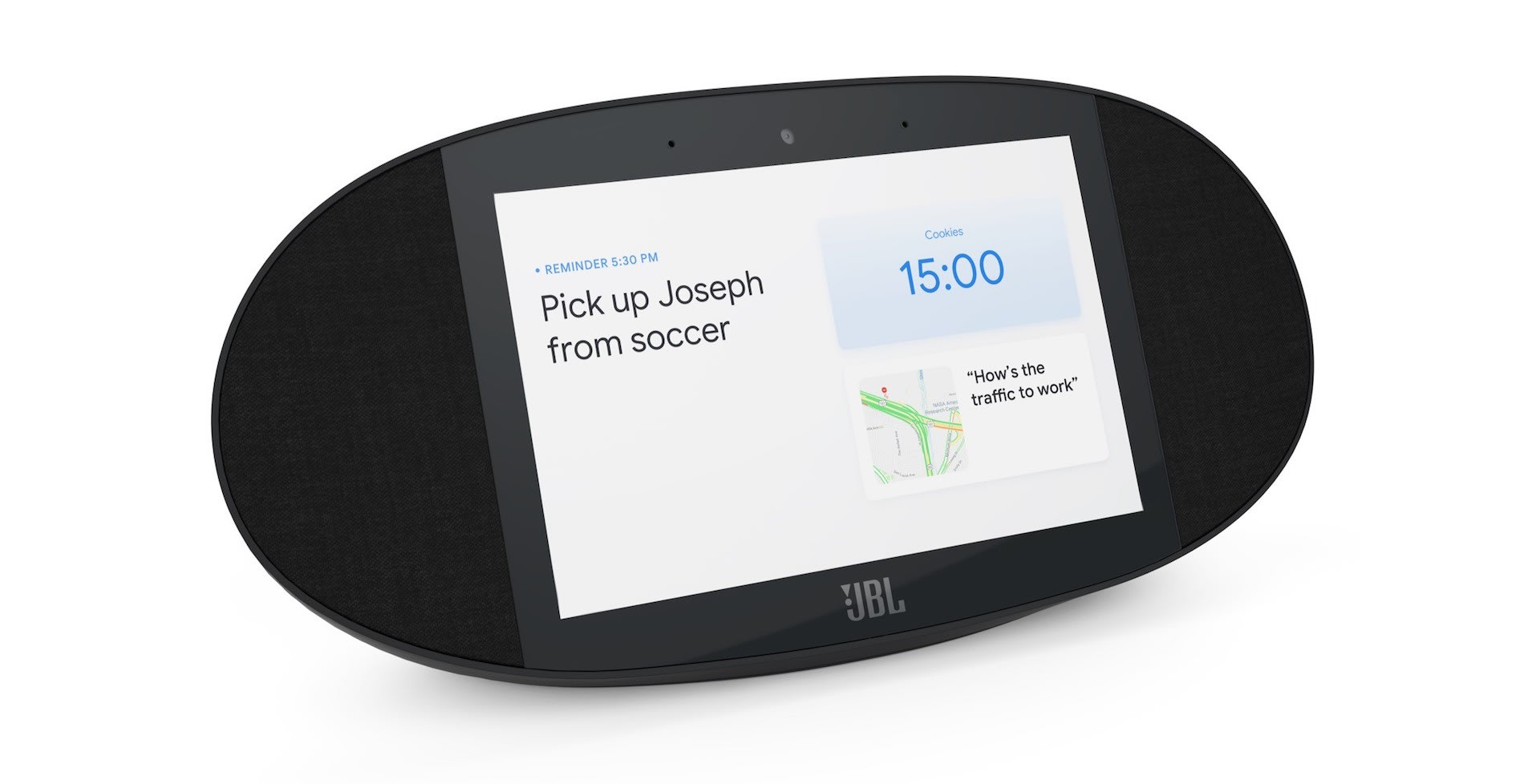 JBL Link View is a Google-powered smart display with audio clout