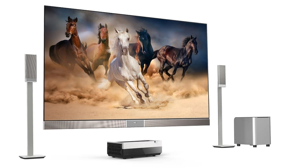 Hisense's laser projector promises a 100-inch 4K screen for $13K