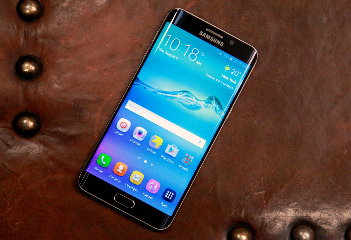 Samsungs Galaxy S6 Edge Is A Super Sized Sequel That Plays It Safe Samsung Its Been Less Than Six Months Since Pulled Back The Curtain On Eye Catching And Now Getting Very Familiar Looking