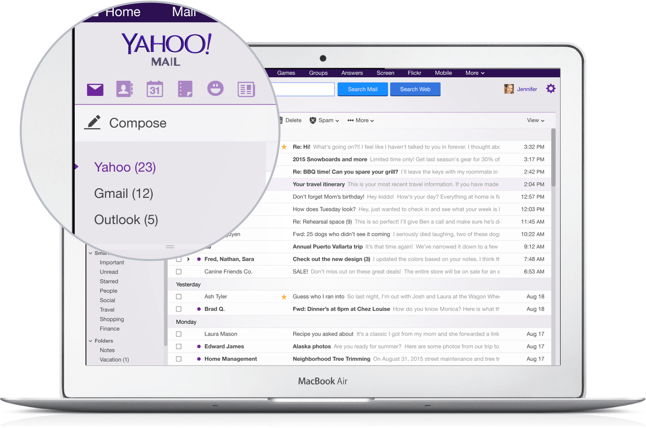 Yahoo wants to manage your Gmail account too