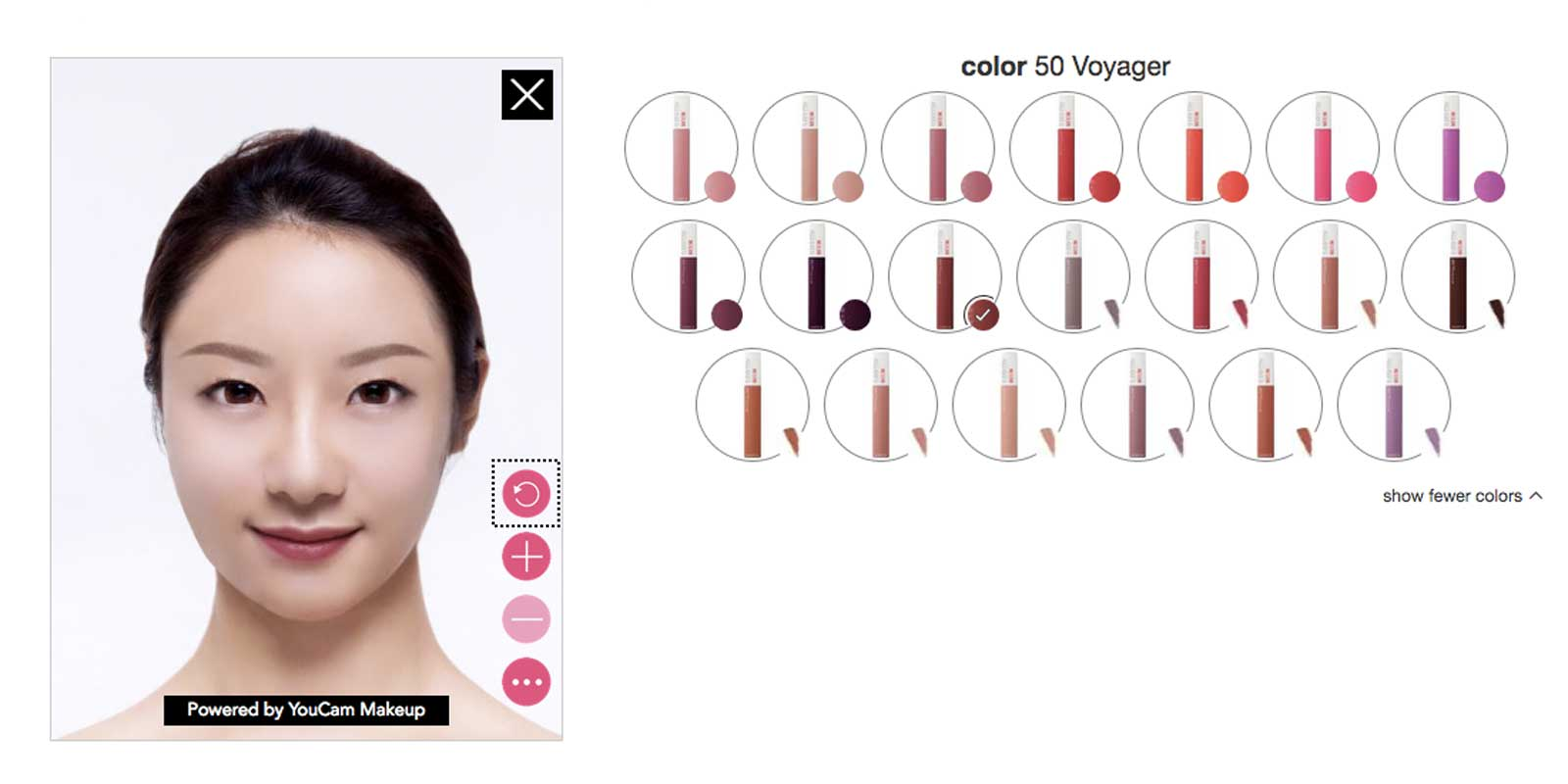 18452a25f3 Target's AR 'studio' helps you try on makeup at home