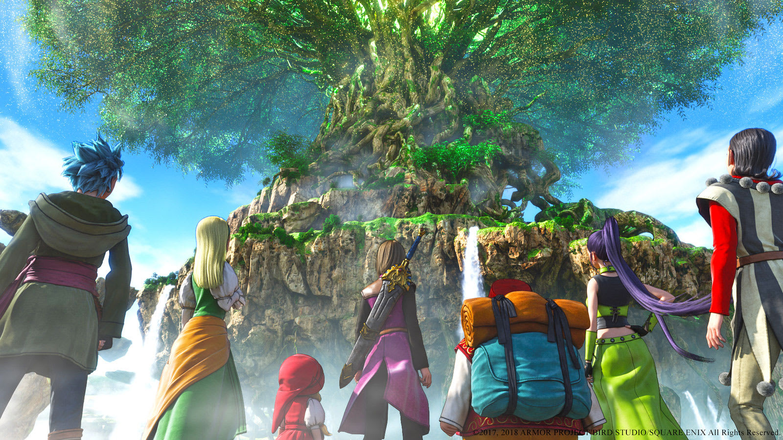 Dragon Quest XI' arrives on PS4 and PC in the US September 4th