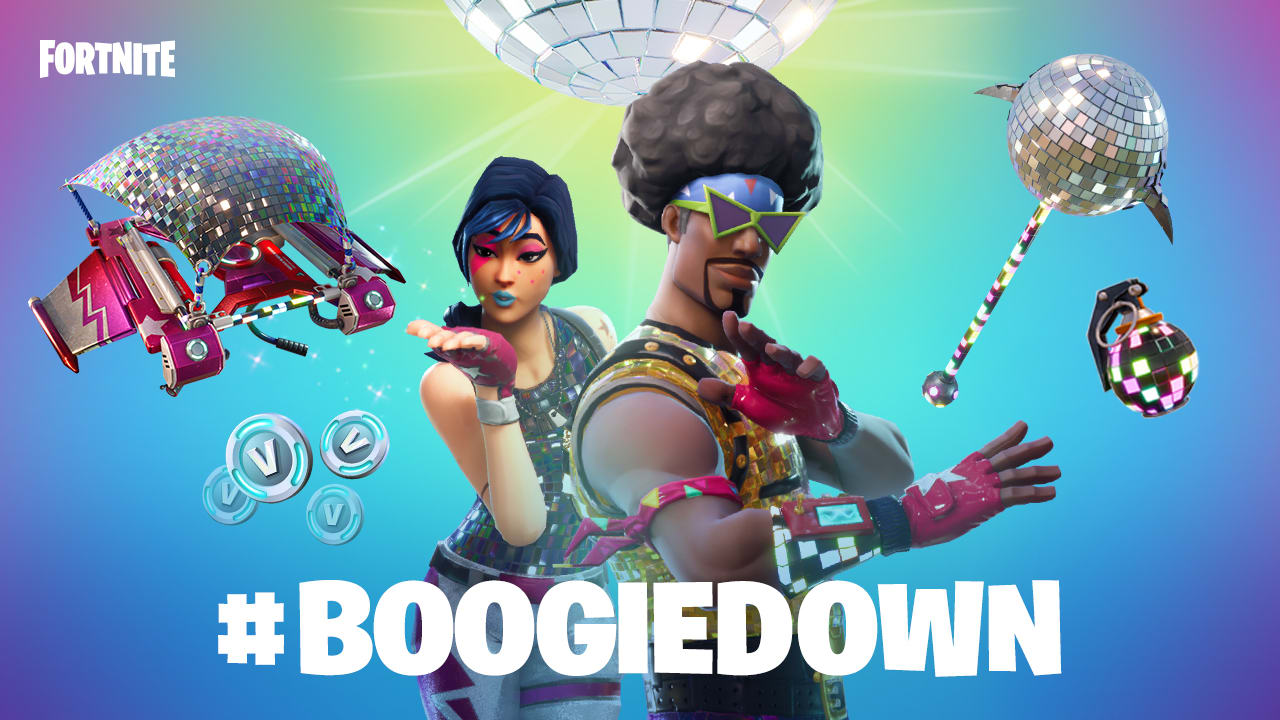 epic games - danse fortnite boogie down