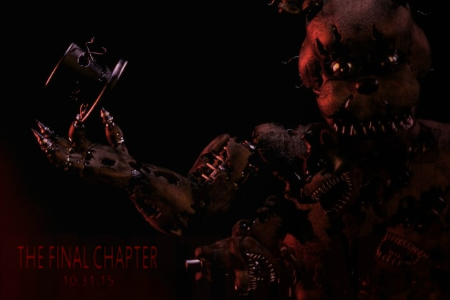 Horror sequel 'Five Nights at Freddy's 4' is happening on