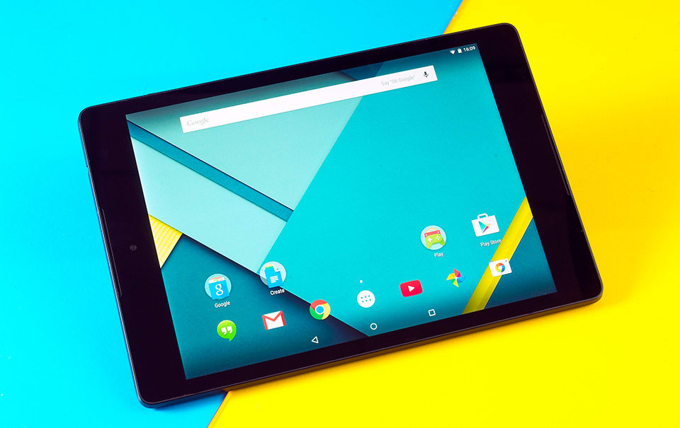 Google Nexus 9 review: The first taste of Lollipop is a
