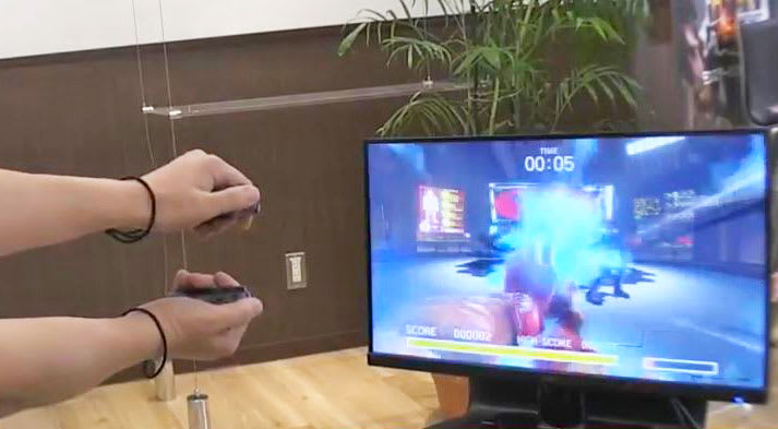 Street Fighter' on Nintendo Switch flings first-person hadokens