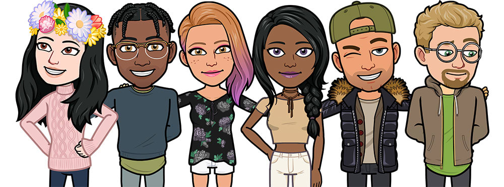 Snap s Bitmoji Deluxe adds more avatar personalization options 47d14cfc7