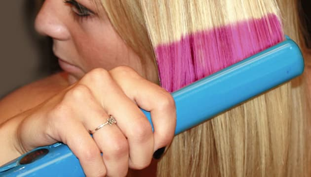 Salons of the future: New hair coloring technique etches ...