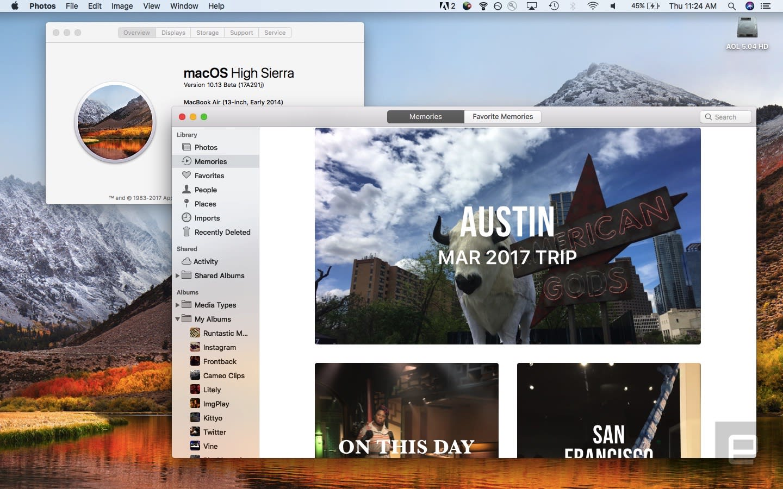 Download macOS High Sierra on September 25th