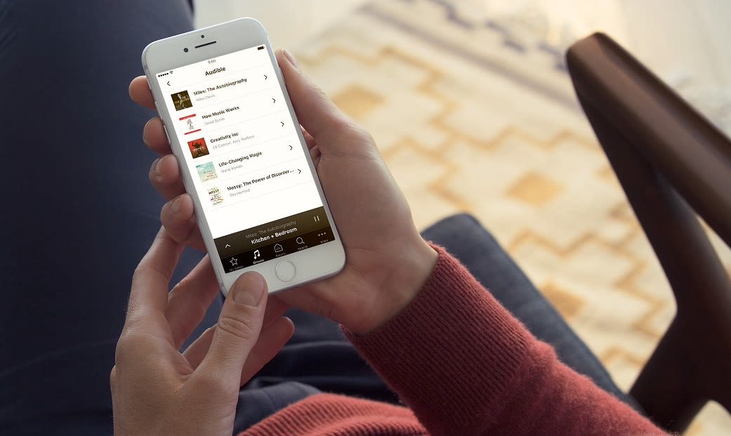 Audible returns to Sonos speakers after two-year hiatus