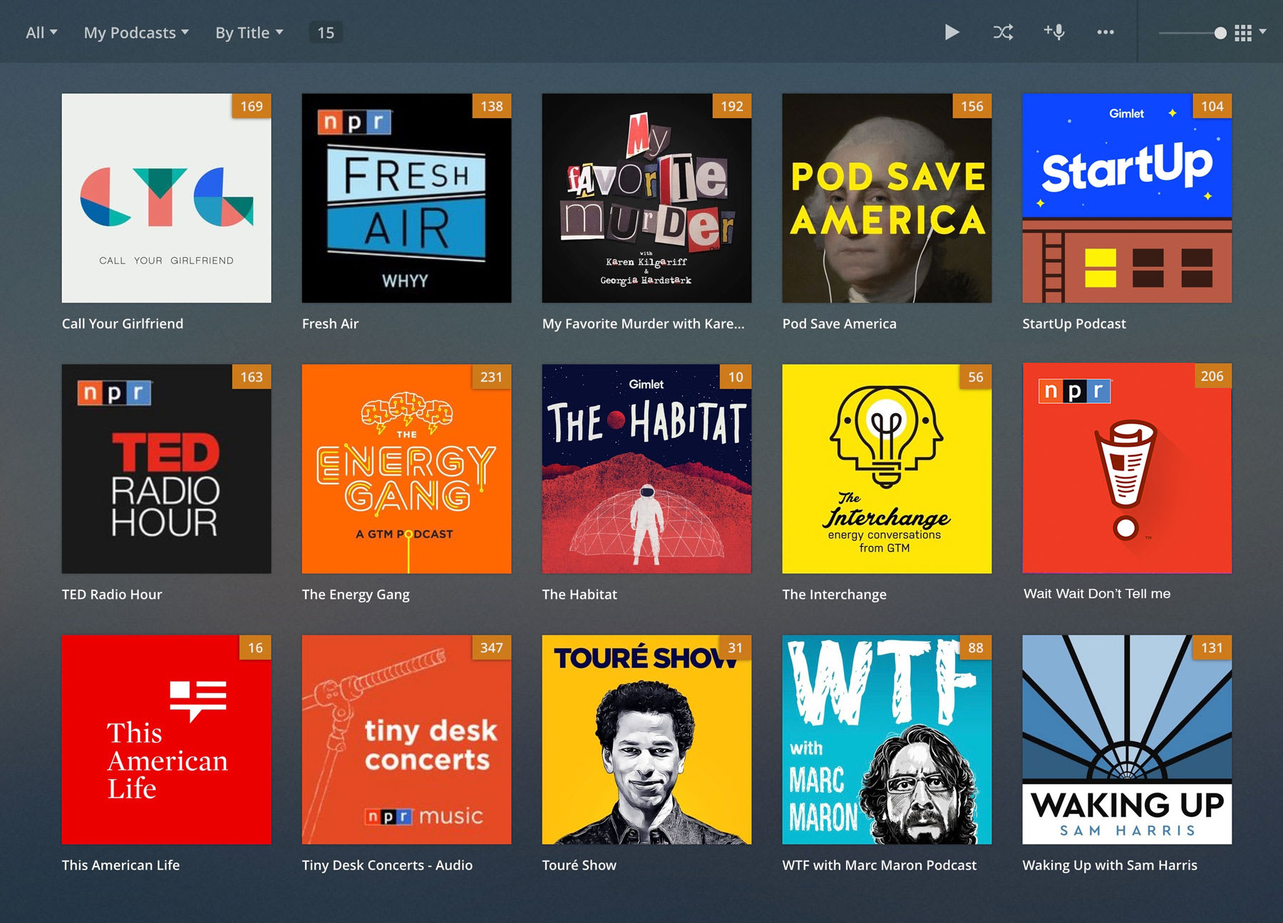 Plex now supports podcasts