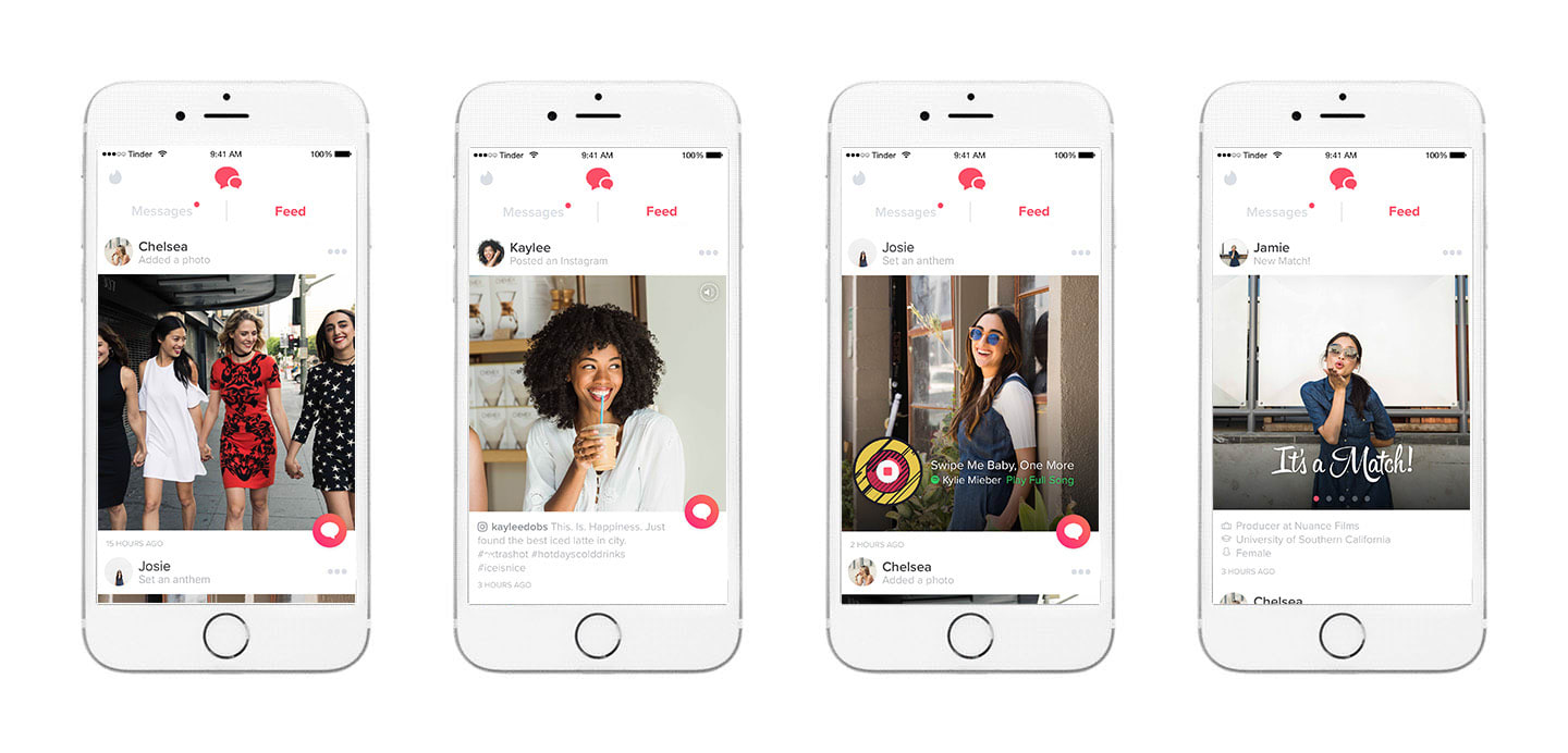 Tinder's new feature is a social feed from your matches