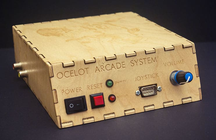 Custom oscilloscope console pays tribute to 'Star Fox' and
