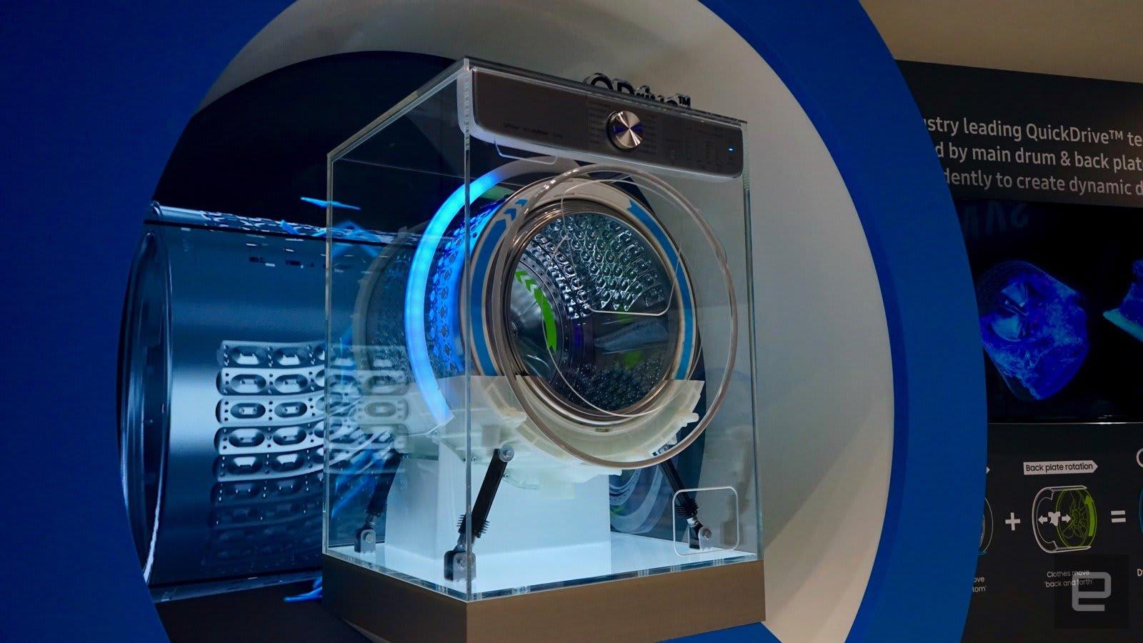 Ww8800m Samsungs Ai Waschmaschine Läuft Schneller