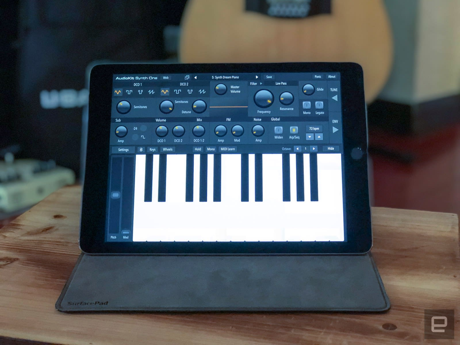 AudioKit Synth One is a free feature-packed synth for your iPad