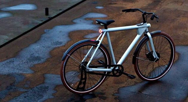 Here's an electric bike that's easy on your eyes, not just