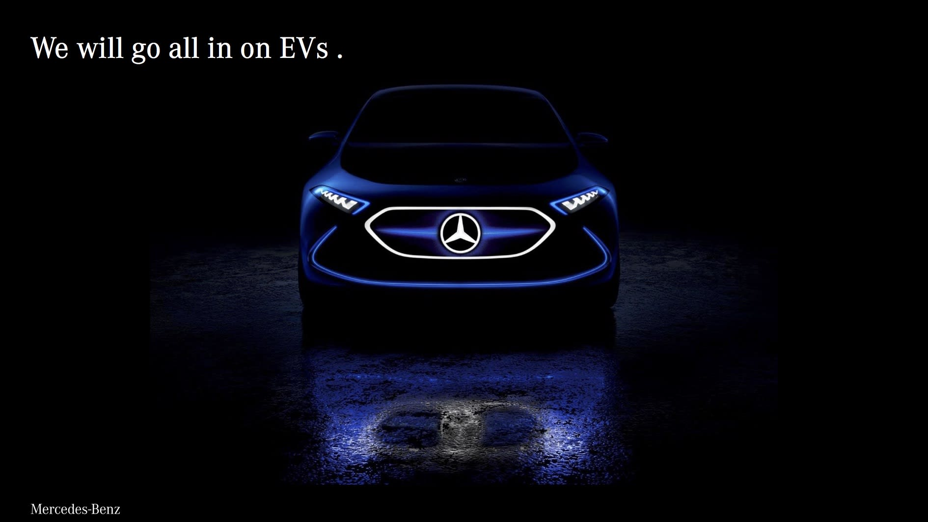Mercedes Benz Latest Models >> Mercedes Benz Plans Electric Versions Of All Its Models By 2022