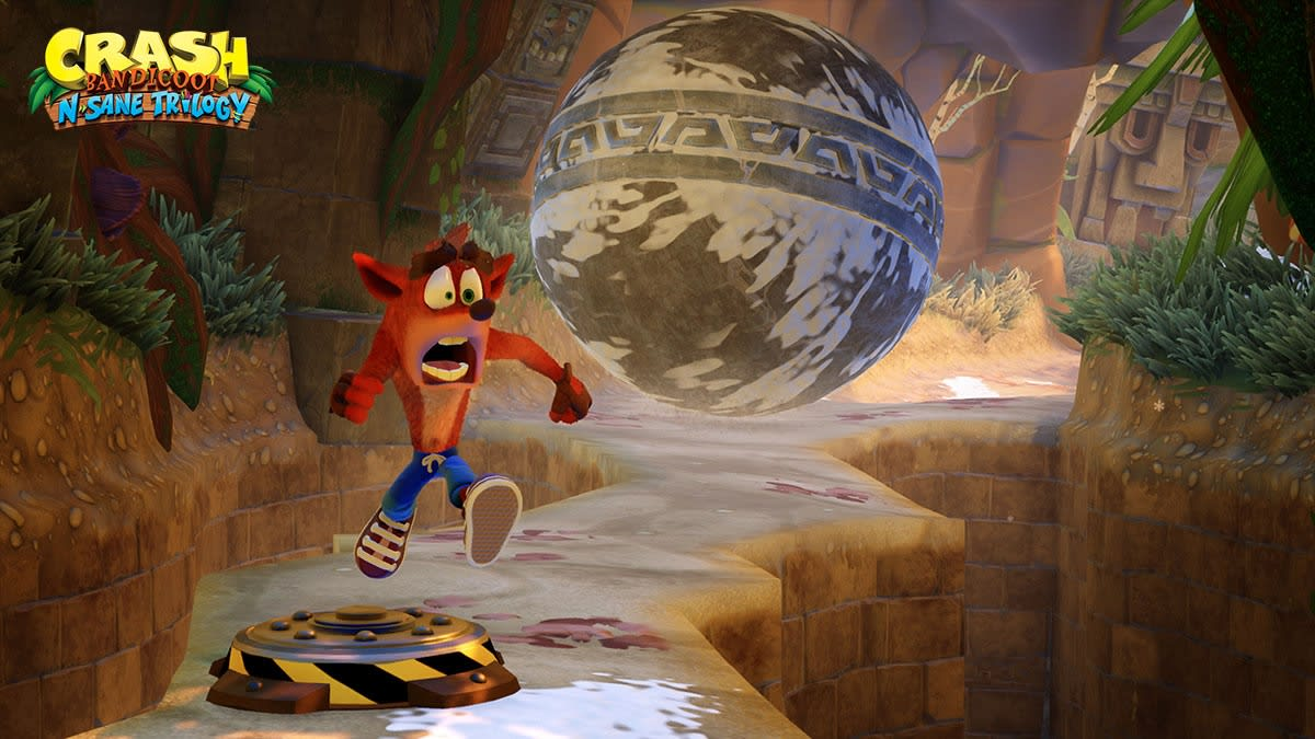 Crash Bandicoot' remastered trilogy coming to the Nintendo Switch