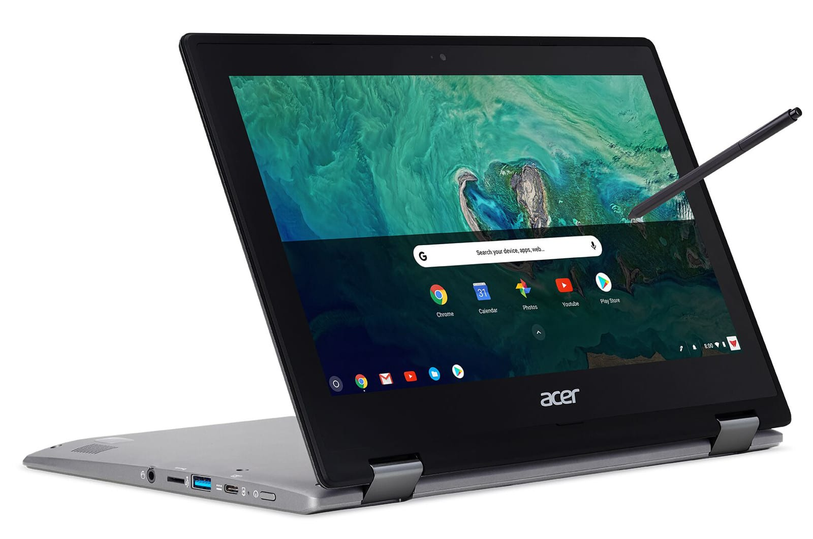 Acer's Spin 11 hybrid Chromebook supports Android apps