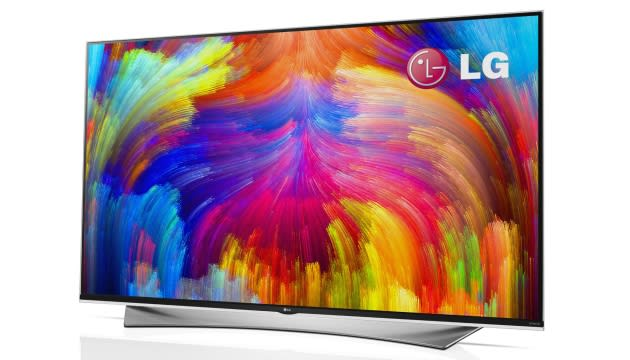 LG says next year's 4K TVs will be better because of quantum dots