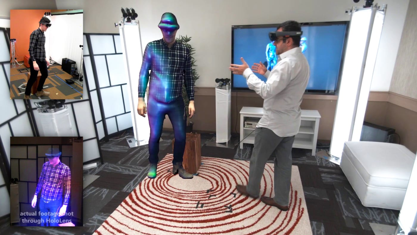 'Holoportation' demo makes live-video holograms look easy