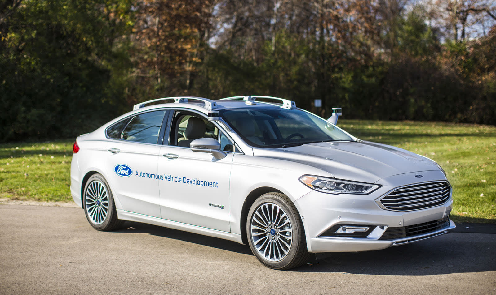 Ford Has Shown The First Images Of Its New Self Driving Fusion Hybrid With A More Ful Computer And Improved Better Integrated Sensors