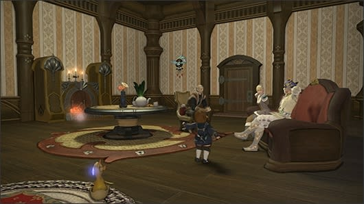 Final Fantasy XIV previews private chambers