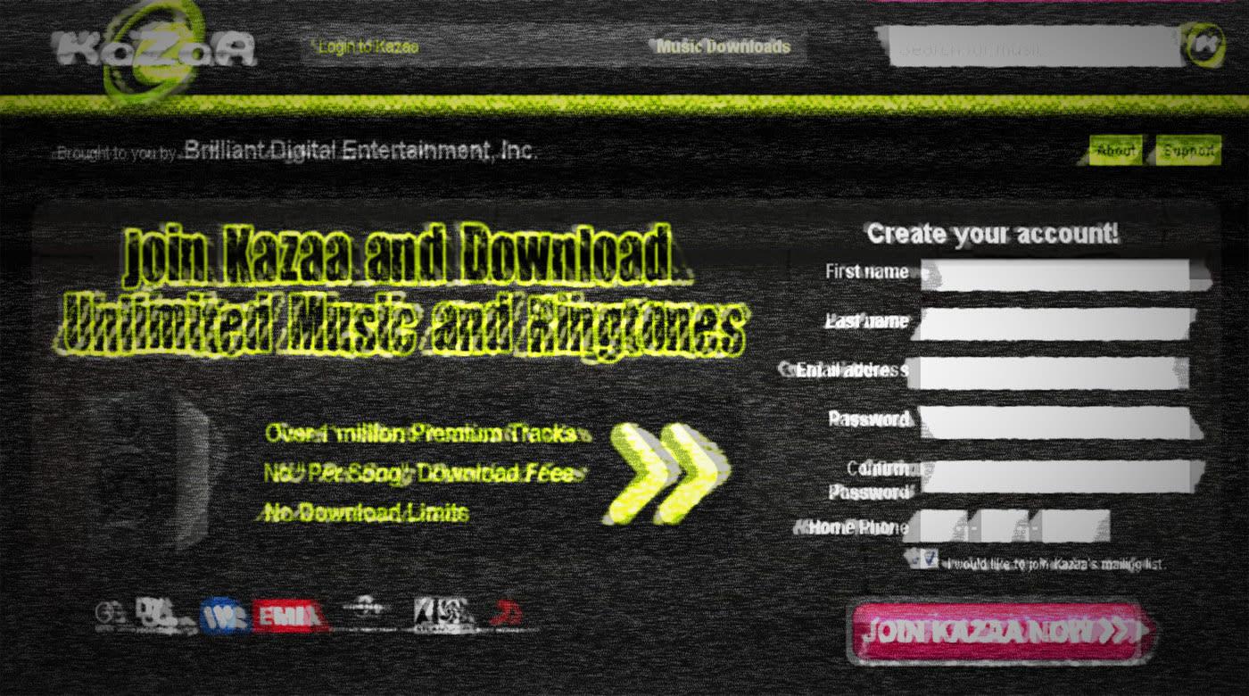 Kazaa   free download.