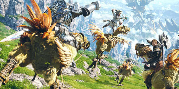Final Fantasy Xivs Playstation 4 Beta Is Now Open To Everyone