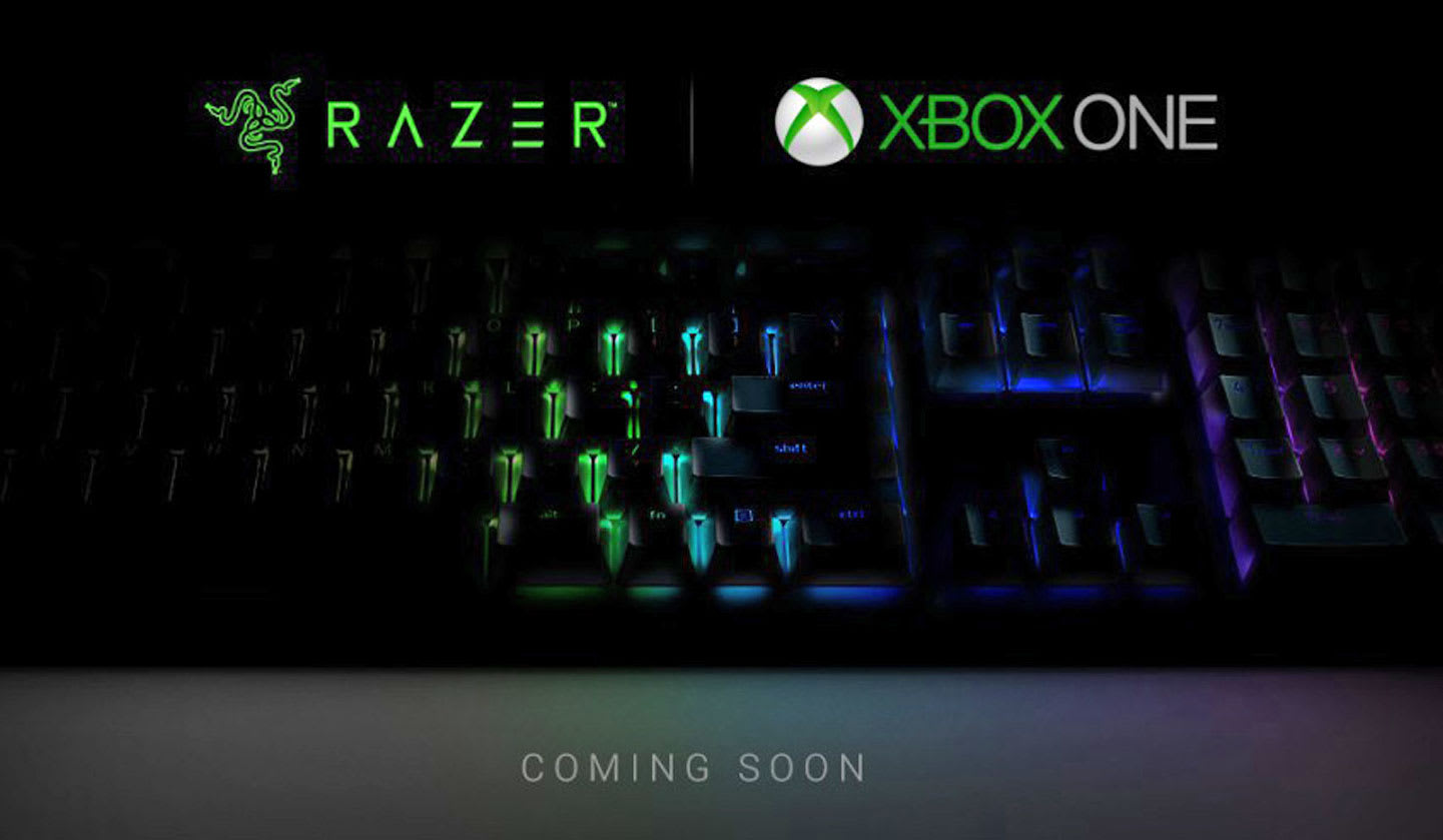 9b0bac4e0f6 Xbox One mouse and keyboard support is coming with Razer's help