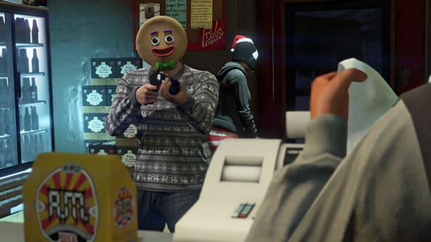 Gta V Christmas Dlc 2019.Gta 5 Festive Surprise Brings Christmas Fear To Los Santas
