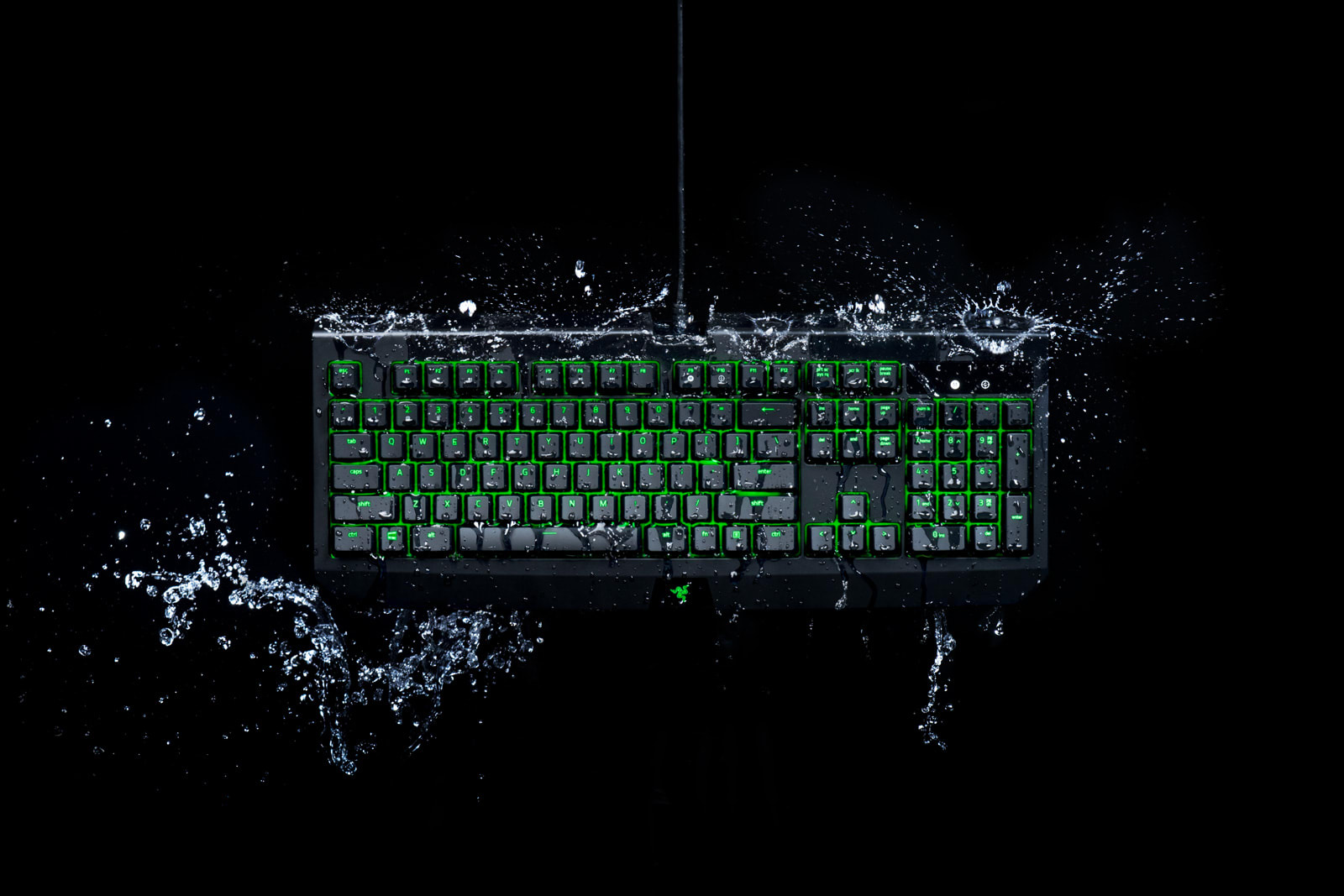 d6772341fff0 Razer s latest gaming keyboard can survive spilled drinks