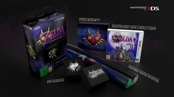 8e2c31399 Now imagine that music with a European accent, because Europe's  chest-openers will find a Special Edition of The Legend of Zelda: Majora's  Mask 3D waiting ...